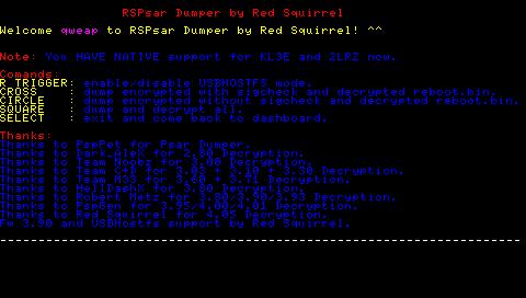 RSPSARDumper説明