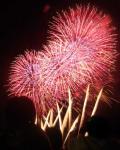 マリーナシティの花火