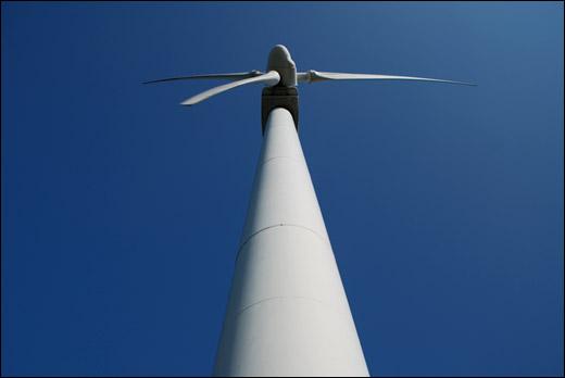 蔵王山展望台の風車