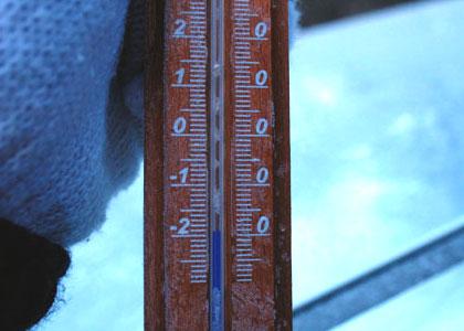 高ボッチ山 -温度計-