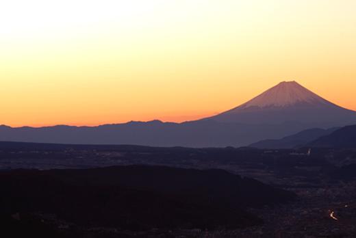 高ボッチ山 -朝焼け-