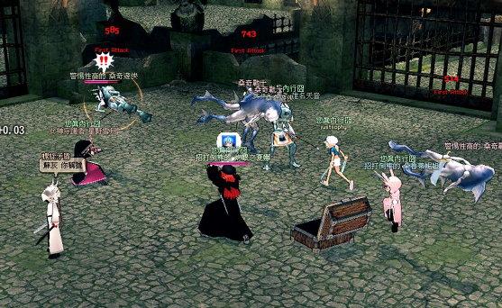 魔女城的陣仗