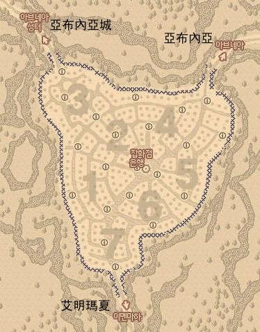 新居住區地圖