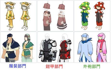 日本服裝設計比賽當選名單