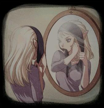結局畫面,安拉絲是精靈?
