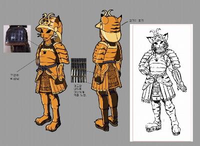 貓武士鎧甲