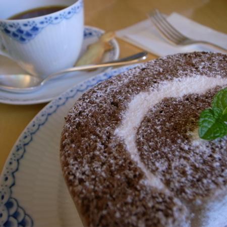 flat cafe choco