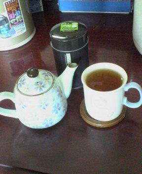 私のお茶の時間