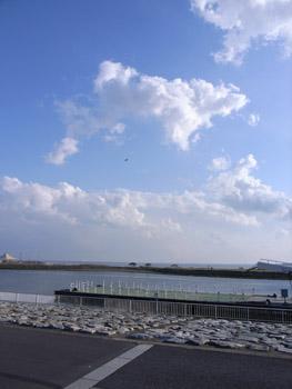 臨海公園の空