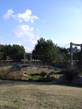 臨海公園の吊り橋