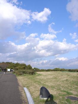 臨海公園の雲