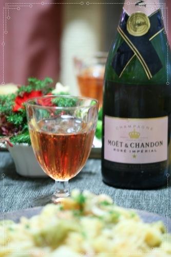 シャンパン♪
