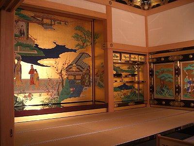 熊本城本丸御殿。