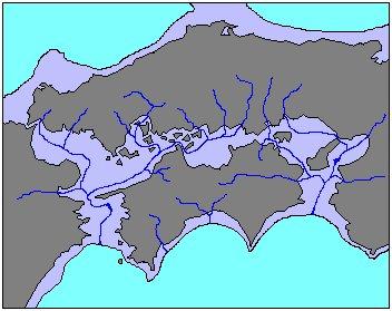 旧石器時代の九州と四国