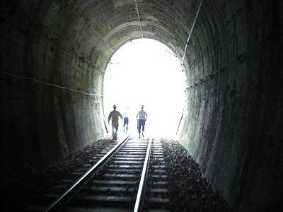 あぶみトンネル