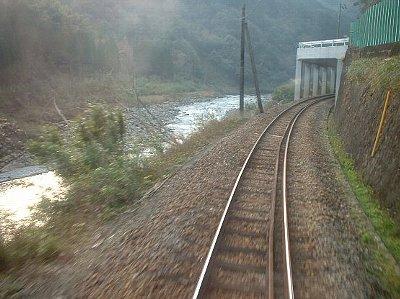 高千穂鉄道槇峰付近