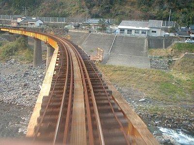 高千穂鉄道 槇峰付近の橋梁