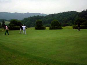 ゴルフ初ラウンド!!