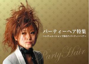 2008パーティ-ヘア特集