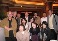 国際ホテルの記念写真