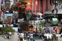 中華街の喧騒