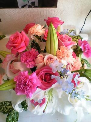お祝い☆のお花