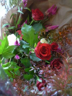 贈呈用のお花☆