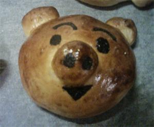 豚さんパン