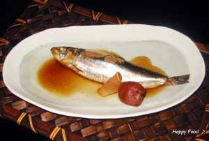 丸ごと☆鰯の梅干し煮