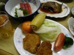 民宿福井の晩飯