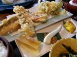 海辺里のほうぼう天ぷら定食