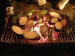 野菜の網焼き