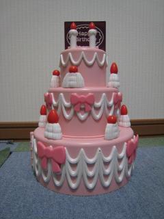 バースデーケーキ?