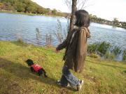 金太郎の池でお散歩