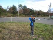 ぷっちぃの野球練習