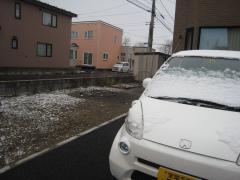 初雪かな?