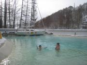 温泉ビーチ