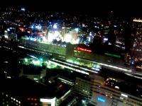 横浜東口夜景