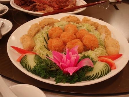 フライ潮洲料理