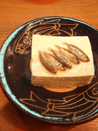 乗せ島豆腐魚塩辛