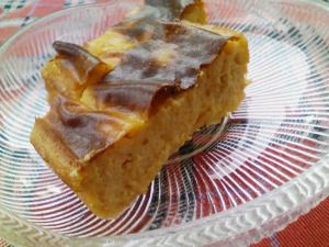 柿のクリームチーズケーキ