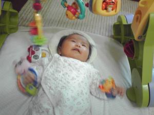 おもちゃと 2ケ月