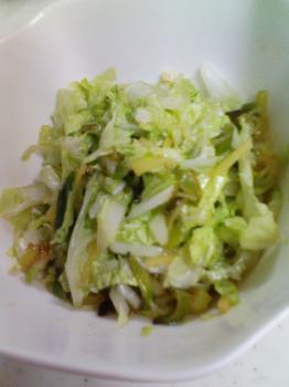 白菜の中華サラダ