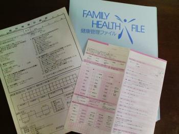 健康管理ファイル 問診表