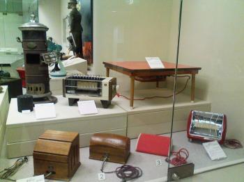 古い暖房器具