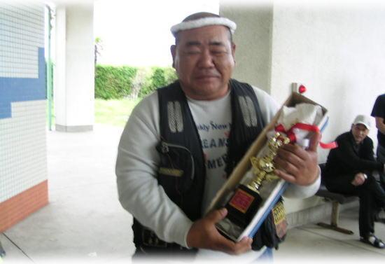 優勝・・・・喜多さん♪