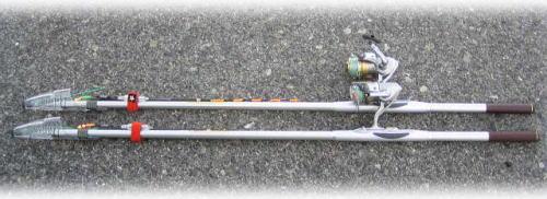 タチウオの竿と仕掛け ^^