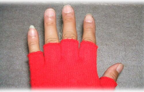 冬用手袋5本指タイプ^^;