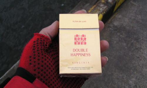 香港のタバコ?