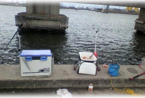 釣り場の風景♪